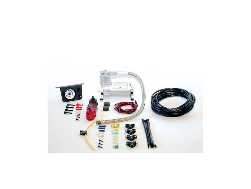 Air Lift Performance Load Controller I Single Path Heavy Duty On-Board Air System (97-18 All)