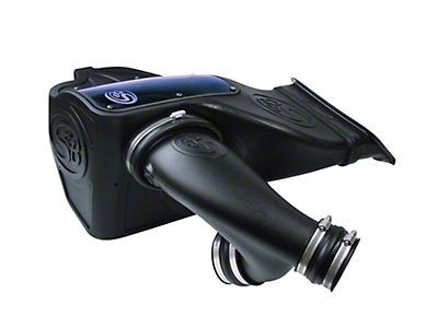 S&B Cold Air Intake w/ Oiled Cleanable Cotton Filter (15-17 2.7L EcoBoost)