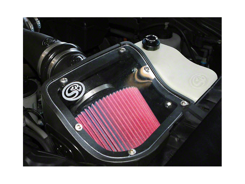 S&B Cold Air Intake w/ Oiled Cleanable Cotton Filter (09-10 5.4L F-150, Excluding Raptor)