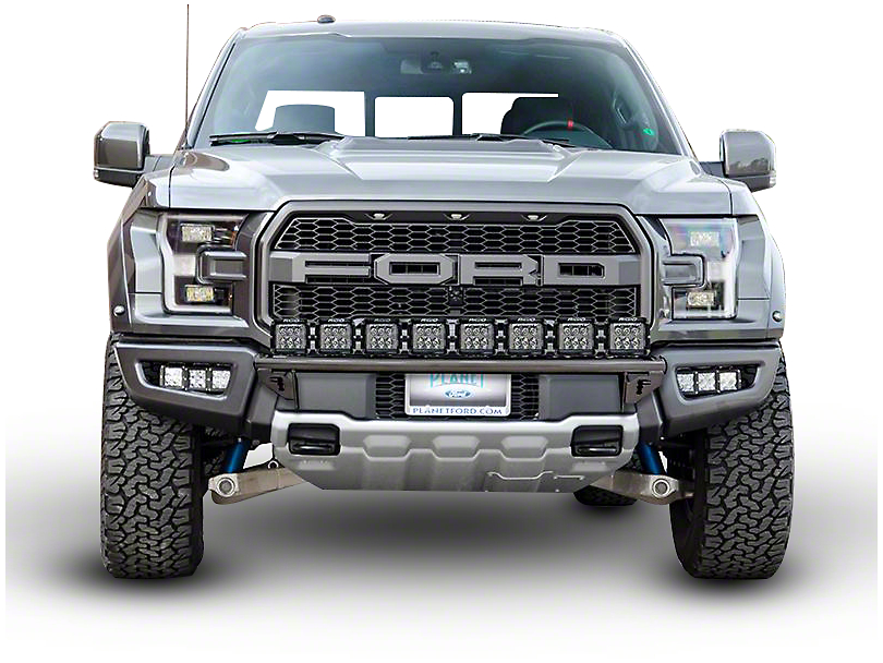 N-Fab Radius Light Bar Multi-Mount System - Gloss Black (17-18 Raptor)