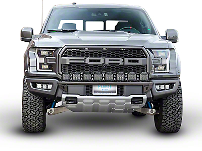 N-Fab Radius Light Bar Multi-Mount System - Gloss Black (17-18 F-150 Raptor)
