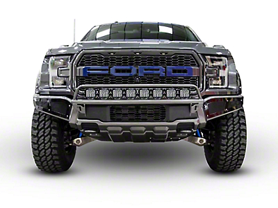 N-Fab Radius Off-Road Light Bar Multi-Mount System - Gloss Black (17-18 Raptor)