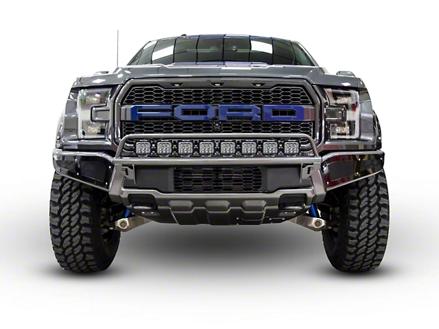 N-Fab Radius Off-Road Light Bar Multi-Mount System - Textured Black (17-18 Raptor)