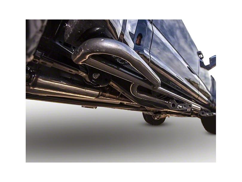 N-Fab Cab Length RKR Side Rails - Textured Black (17-19 F-150 Raptor SuperCrew)