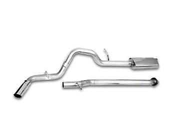 CGS Motorsports Aluminized Single Exhaust System - Side Exit (15-18 5.0L)