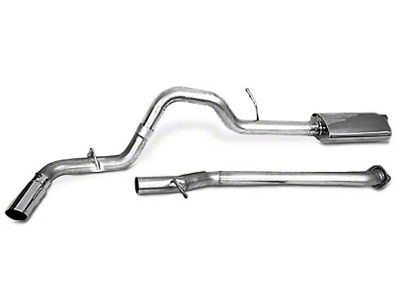 CGS Motorsports Aluminized Single Exhaust System - Side Exit (15-19 3.5L EcoBoost F-150, Excluding Raptor & 2019 F-150 Limited)