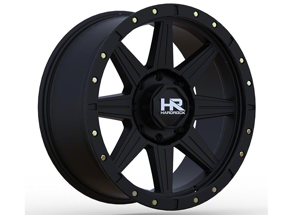 Hardrock Offroad H100 Matte Black 6-Lug Wheel - 18x9 (04-18 F-150)