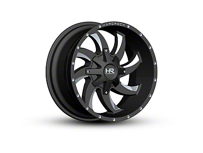 Hardrock Offroad H701 DEVIOUS Black Milled 6-Lug Wheel - 20x10 (04-18 All)