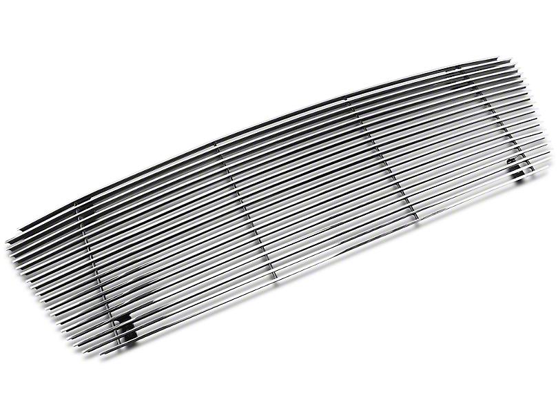Modern Billet Upper Overlay Grille - Polished (04-08 F-150 XL, XLT, Lariat)