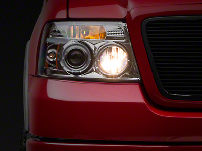 Axial Chrome Projector Headlights (04-08 F-150)