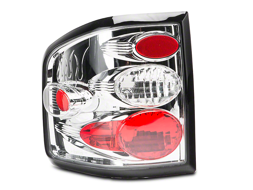 Axial Crystal Eyes Tail Lights - Crystal Clear (04-09 F-150 Flareside)