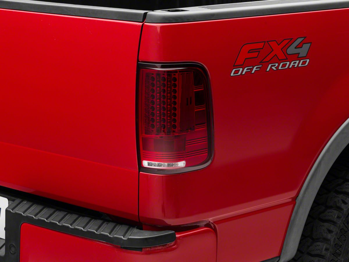 Axial Gen 2 Ruby Red Led Tail Lights 04 08 F 150 Styleside