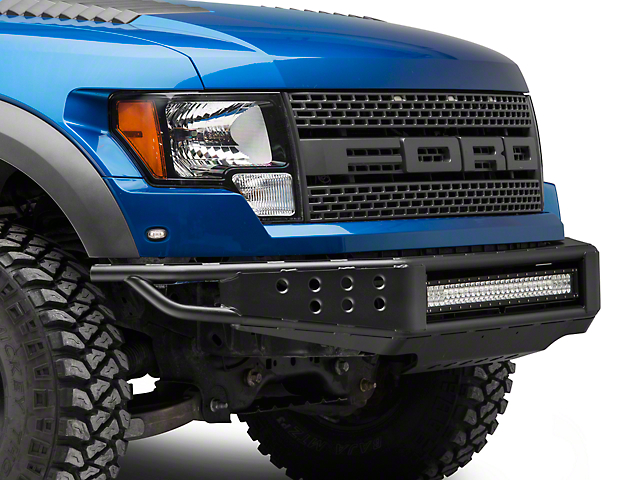 RedRock 4x4 Tubular Off-Road Front Bumper with 30-Inch LED Light Bar (10-14 F-150 Raptor)
