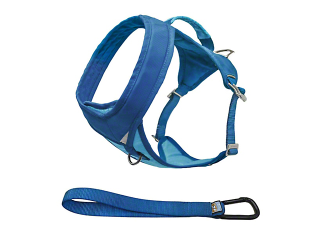 Kurgo Go-Tech Adventure Dog Harness - Coastal Blue (97-18 All)