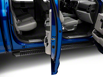 Stainless Steel Front & Rear Door Sill Plates (15-18 F-150 SuperCrew)