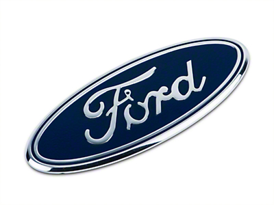 Defenderworx Ford Oval Grille Emblem - Blue (15-18 All, Excluding Raptor)
