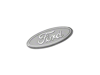 Defenderworx Ford Oval Grille Emblem - Silver (15-18 All, Excluding Raptor)