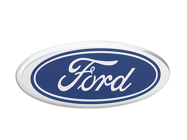Defenderworx Ford Oval Tailgate Emblem - Blue (15-18 All)