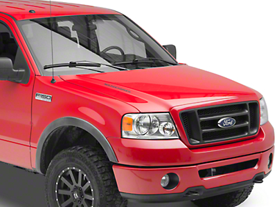 Roush ROUSHcharged Hood Scoop Decal - Gloss Black (04-08 F-150)