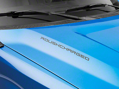 Roush ROUSHcharged Decal - Matte Black (09-14 All)