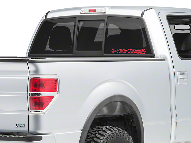 Roush ROUSHcharged Decal - Red (09-14 F-150)