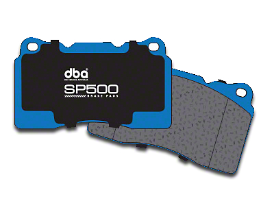 DBA SP500 Street Performance Brake Pads - Rear Pair (04-12 All, Excluding 2012 Raptor)