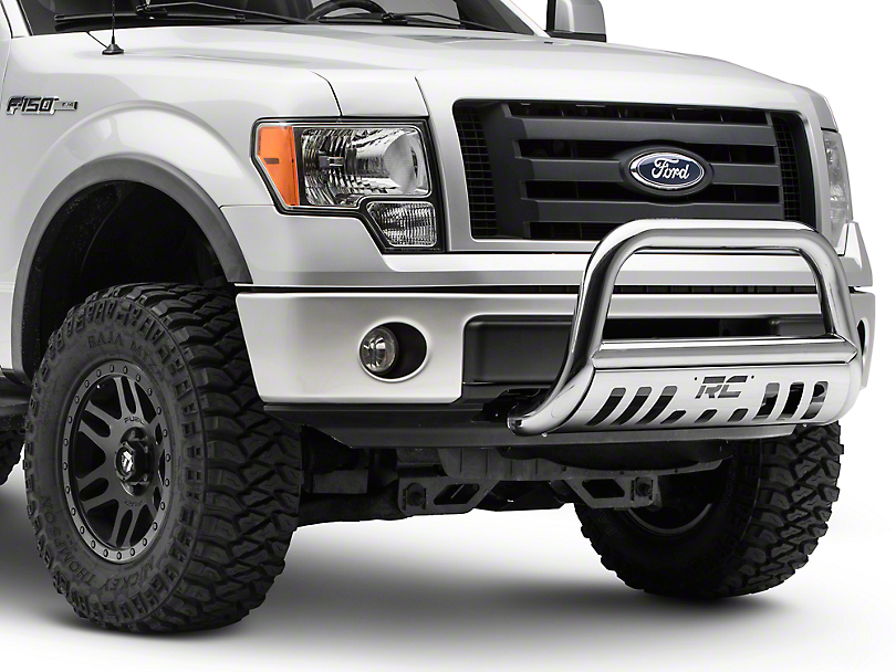 Rough Country Bull Bar - Polished Stainless (04-18 All, Excluding Raptor)