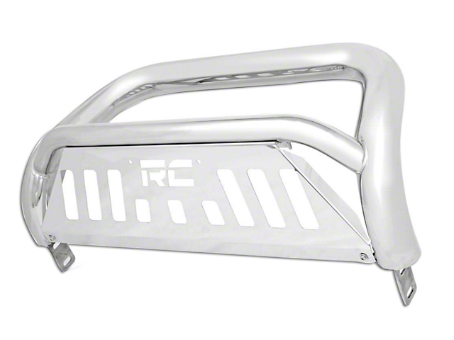 Rough Country Bull Bar - Polished Stainless (11-18 2.7L/3.5L EcoBoost F-150, Excluding Raptor)