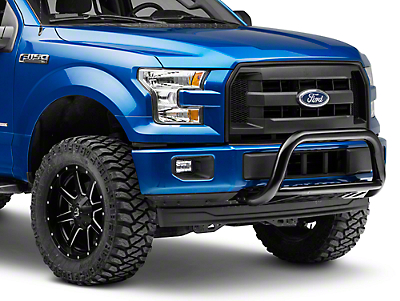 Rough Country Bull Bar - Black (11-18 2.7L/3.5L EcoBoost F-150, Excluding Raptor)