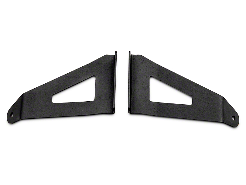 Rough Country 54 in. Curved LED Light Bar Upper Windshield Mount Brackets (04-14 All)