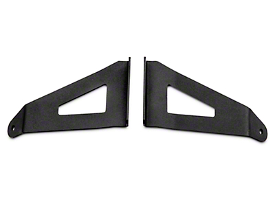 Rough Country 54 in. Curved LED Light Bar Upper Windshield Mount Brackets (04-14 F-150)