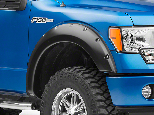SuperLift Bolt Style Fender Flares (09-14 F-150 Styleside, Excluding Raptor)