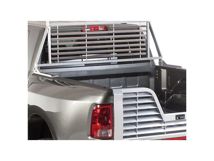 Husky Aluminum Contractor Rack - Silver (97-03 All)