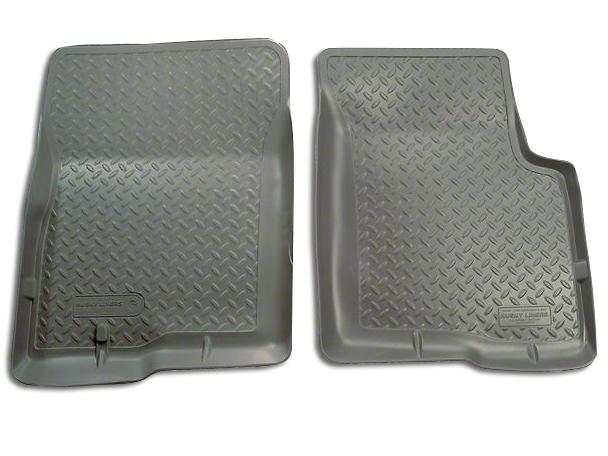Husky Classic Front Floor Liners - Grey (97-03 F-150)
