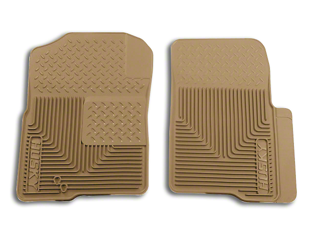 Husky Heavy Duty Front Floor Mats - Tan (04-10 F-150)