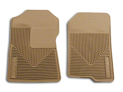 Husky Heavy Duty Front Floor Mats - Tan (97-03 F-150)