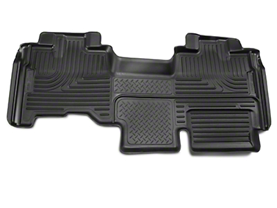 Husky WeatherBeater 2nd Seat Floor Liner - Full Coverage - Black (09-14 SuperCab)