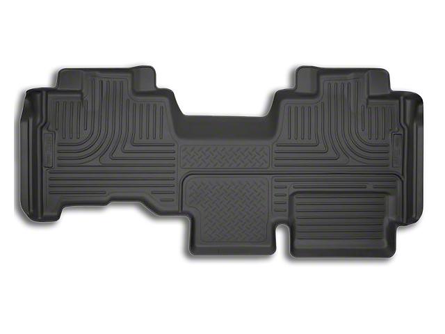 Husky X-Act Contour 2nd Seat Floor Liner - Black (09-14 SuperCab)