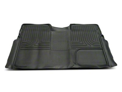 Husky X-Act Contour 2nd Seat Floor Liner - Full Coverage - Black (09-14 F-150 SuperCrew)