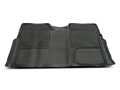 Husky X-Act Contour 2nd Seat Floor Liner - Full Coverage - Black (09-14 SuperCrew)