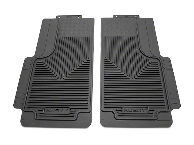 Husky Heavy Duty 2nd Seat Floor Mats - Gray (97-10 F-150 SuperCab, SuperCrew)