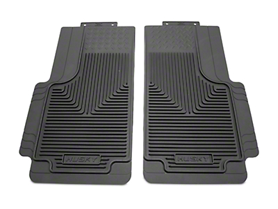 Husky Heavy Duty 2nd Row Floor Mats - Grey (97-10 F-150 SuperCab, SuperCrew)