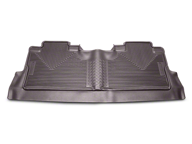 Husky X-Act Contour 2nd Seat Floor Liner w/ Footwell Coverage - Cocoa (15-18 F-150 SuperCrew)