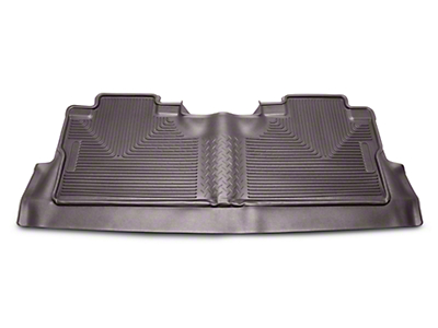 Husky X-Act Contour 2nd Seat Floor Liner w/ Footwell Coverage - Cocoa (15-19 F-150 SuperCrew)