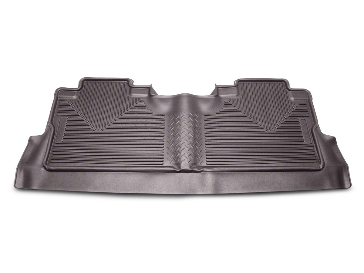 3afdc537f6d36 Husky X-Act Contour 2nd Seat Floor Liner w/ Footwell Coverage - Cocoa  (15-19 F-150 SuperCrew)