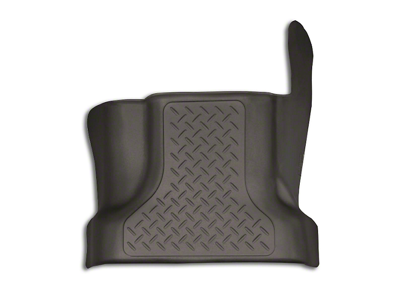 Husky X-Act Contour Center Hump Floor Liner - Cocoa (15-19 F-150 SuperCab, SuperCrew)