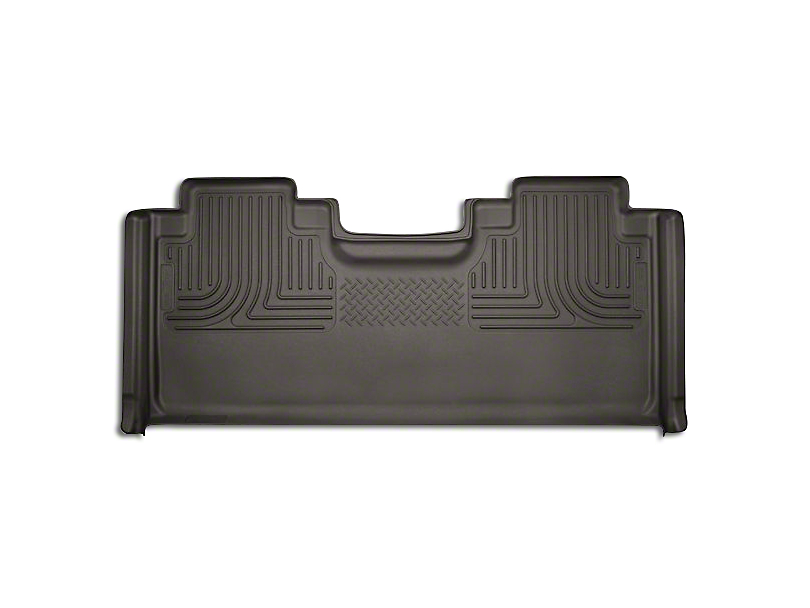 Husky WeatherBeater 2nd Seat Floor Liner - Full Coverage - Cocoa (15-18 F-150 SuperCab, SuperCrew)