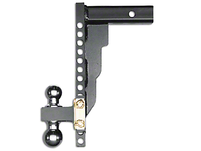 Husky 2 in. Receiver Adjustable Ball Mount - 14 in. Drop Hitch (97-18 All)