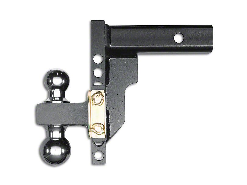 Husky 2 in. Receiver Adjustable Ball Mount - 8 in. Drop Hitch (97-18 All)