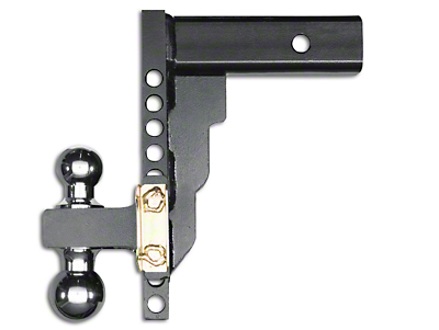 Husky 2.5 in. Receiver Adjustable Ball Mount - 10 in. Drop Hitch (97-18 All)